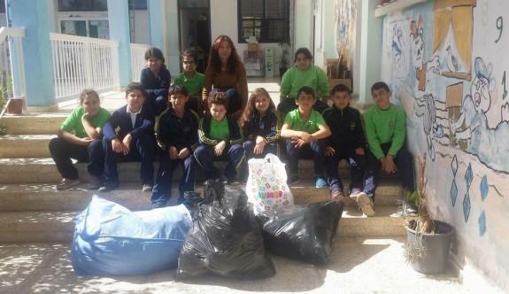 """""""Kullanılmış Giysi Bağışı"""" projesine okullardan destek"""