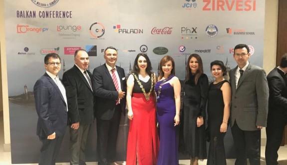 Kuzey Kıbrıs Jaycees, Balkan konferansında