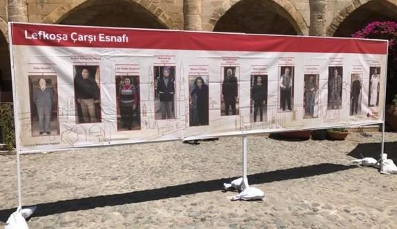"""""""Lefkoşa Çarşı Esnafı-III"""" fotoğraf sergisi  yarın açılacak"""