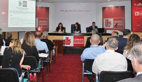 Limasol Bankası Yıllık Genel Kurulunu yaptı