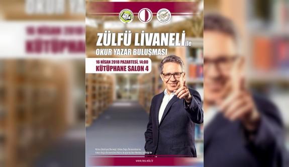 Livaneli, 16 Nisan'da okurlarıyla YDÜ'de buluşacak