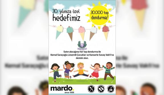 Mardo dondurmalarından anlamlı bağış