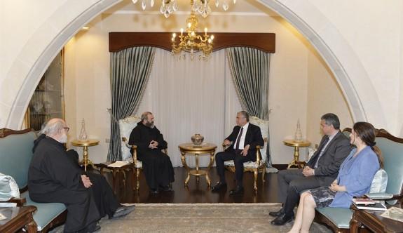 Maronit Başrahipten, Cumhurbaşkanına teşekkür ziyareti