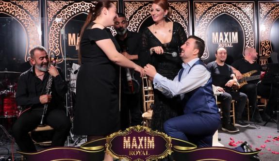 Maxim'de Gökçe ile dopdolu eğlence