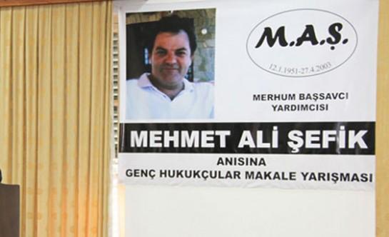 Mehmet Ali Şefik anısına düzenlenen makale yarışması sonuçlandı