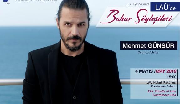 Mehmet Günsür LAÜ Bahar Söyleşileri'ne katılacak
