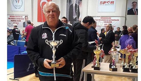 Olguner Bursa'da üçüncü oldu