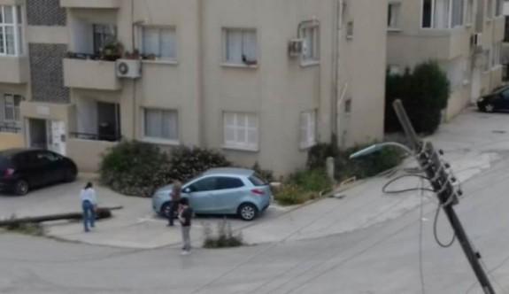 Ortaköy'de tır dehşeti