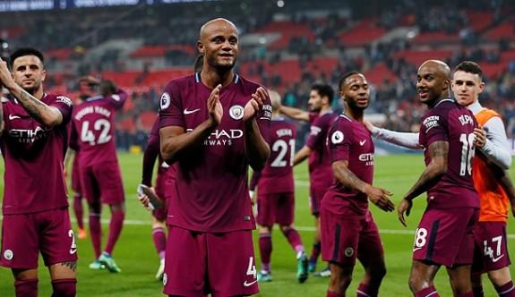 Premier Lig'de şampiyon M.City