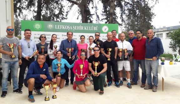 Puanlı senior tenis turnuvası tamamlandı