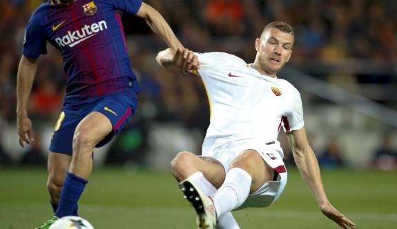 Roma, Camp Nou'da kendini yaktı