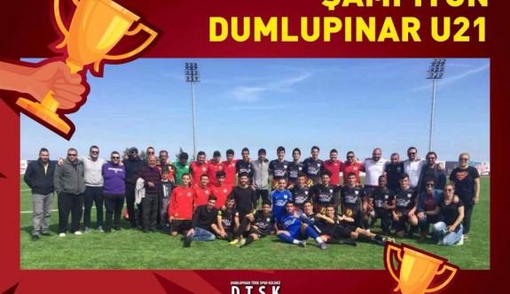 Şampiyon Dumlupınar U21 Takımı
