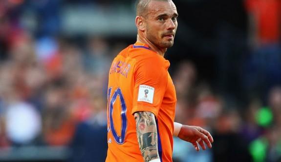 Sneijder milli takıma veda ediyor