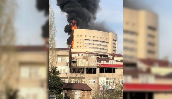 TaksimEğitim ve Araştırma Hastanesi'nde yangın