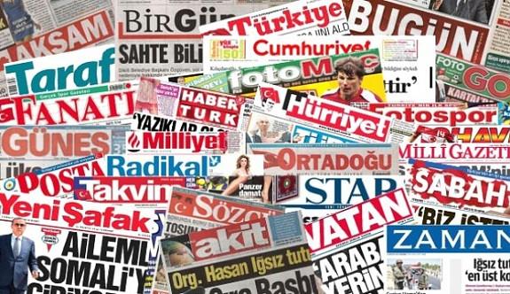 Türkiye'de günün gazete manşetleri - 1 Nisan 2018