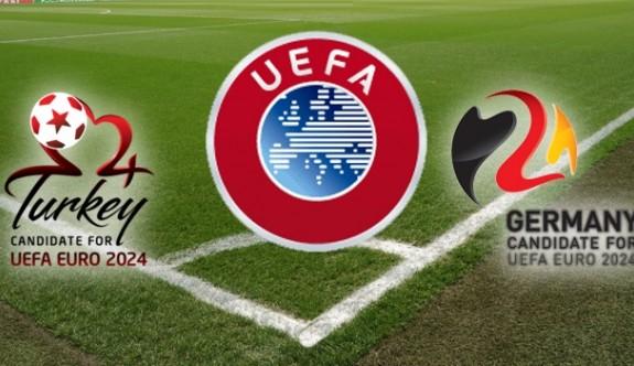 Türkiye adaylık dosyasını UEFA'ya sunuyor