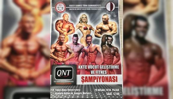 Vücut geliştirme şampiyonası düzenlenecek
