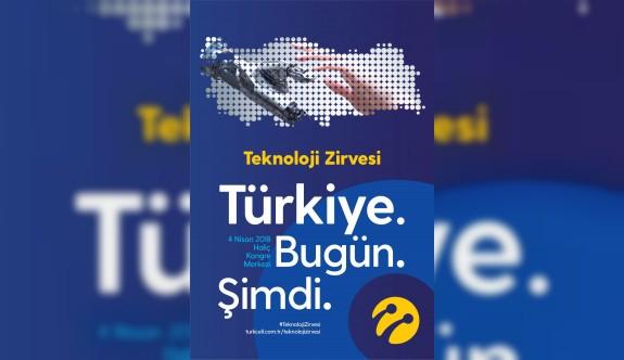 Yapay zekanın dâhileri Turkcell'in Teknoloji Zirvesi'nde buluşuyor