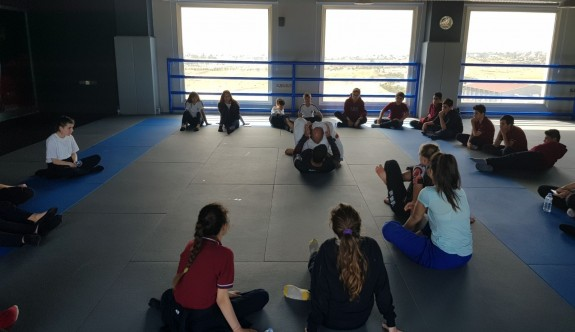 YDK öğrencileri, Jiu Jitsu'yu tanıyor