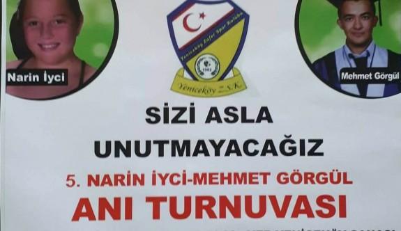 Yeniceköy'de anlamlı turnuva