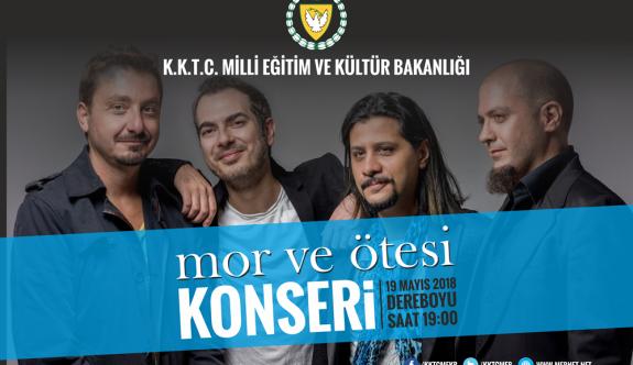"""19 Mayıs kapsamında """"Mor ve Ötesi"""" konseri"""