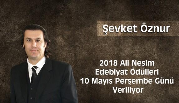 2018 Ali Nesim Edebiyat Ödülleri 10 Mayıs Perşembe Günü Veriliyor
