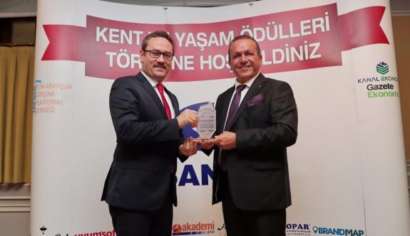 Ataoğlu'na İstanbul'da ödül