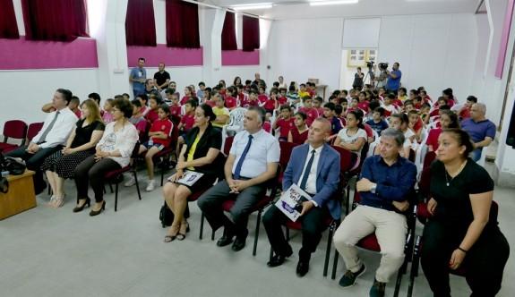"""Atatürk İlkokulu'nda """"Kitap Sevgi Günü"""" etkinliği düzenlendi"""