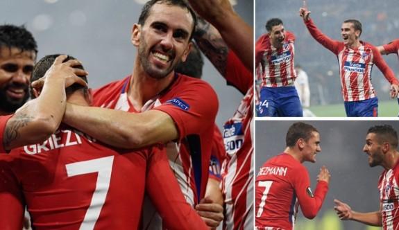 Avrupa Ligi'nin kralı Atletico Madrid