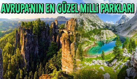 Avrupa'nın en güzel milli parkları