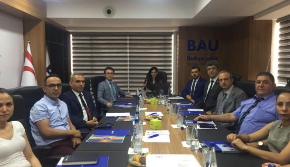 Bahçeşehir Kıbrıs Üniversitesi'nde Doğu Akdeniz'de gelişmeler masaya yatırıldı