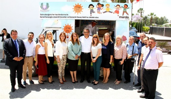 Başbakanlık'tan Mardo Dondurmaları kampanyasına destek