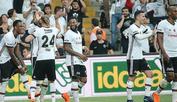 Beşiktaş farklı bitirdi