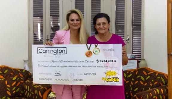 Carrington Group'tan Kanser Derneği'ne rekor bağış