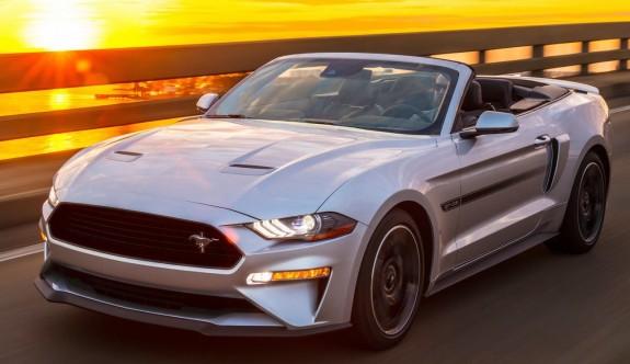 Çok özel bir versiyon: 2019 Yeni Ford Mustang GT California Special