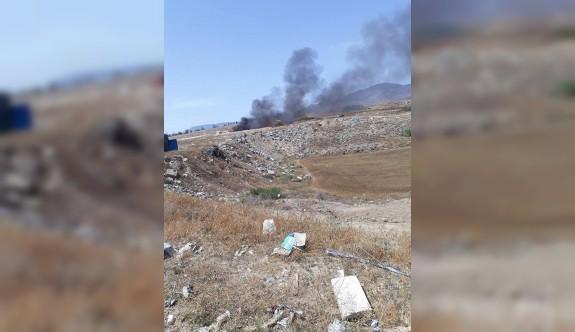 Çöplükler yakılıyor, vatandaş zehir soluyor