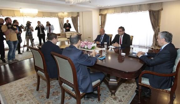 Cumhurbaşkanlığı'ndaki toplantıda hükümet ortakları bilgilendirildi