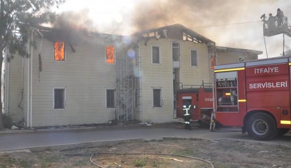 DAÜ'deki yurt yangını kontrol altına alındı