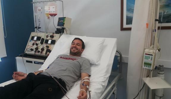 Donör Uğur Biren'den kanserle mücadeleye katkı