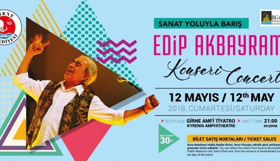 Edip Akbayram, Girne'de sevenleriyle buluşacak