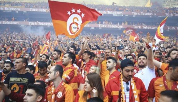 Galatasaray'dan coşkulu kutlama