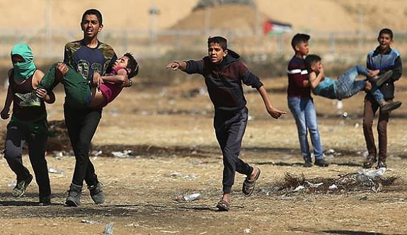 Gazze'de 5 çocuk öldürüldü!