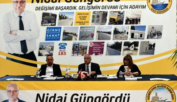 """""""Girne Belediyesi'ni ayağa kaldırdık"""""""