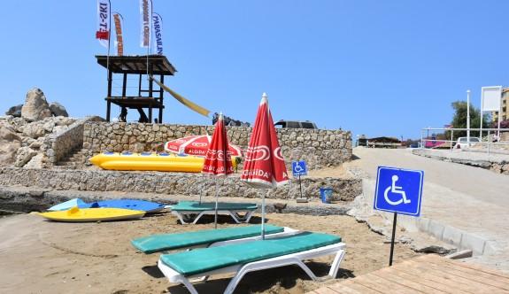 Girne plajlarına düzenleme