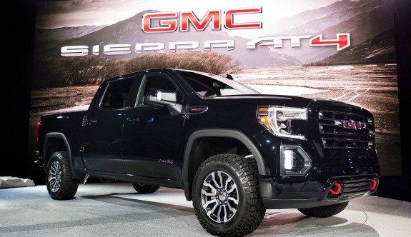 İri ve güçlü pick-up 2019 Yeni GMC Sierra