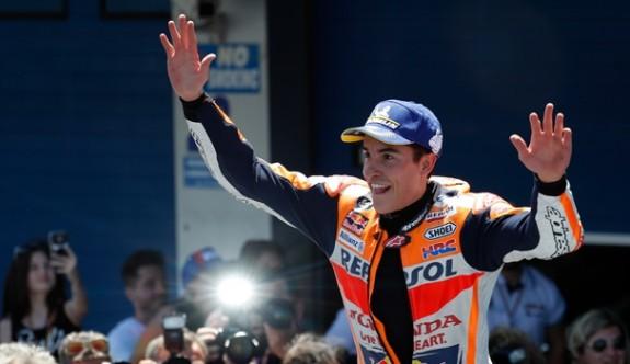 İspanya'da zafer Marquez'in