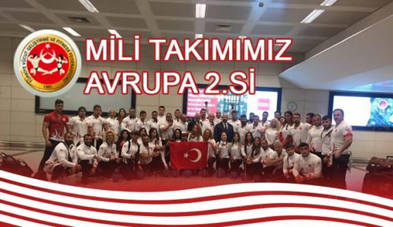 Kaz Rızalı Türkiye, Avrupa ikincisi