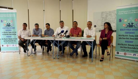 Kıbrıslı Türk ve Rum öğretmenlerden ortak konferans ve atölye çalışması