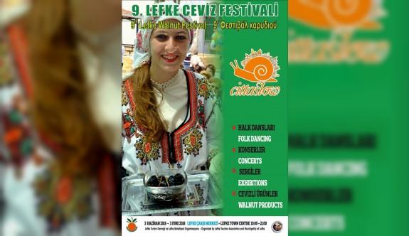 Lefke Ceviz Festivali, 3 Haziran Pazar günü yapılıyor