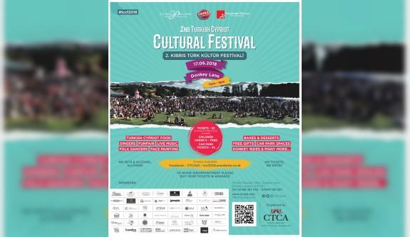 """Londra'da """"2. Kıbrıs Türk Kültür Festivali"""" 17 Haziran'da"""
